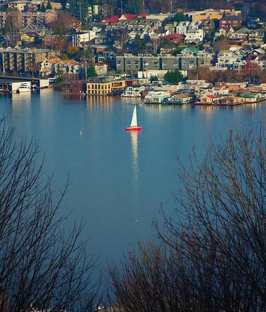 Red Sailboat
