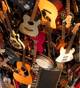Guitars everywhere