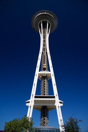 Bluest skies are in Seattle