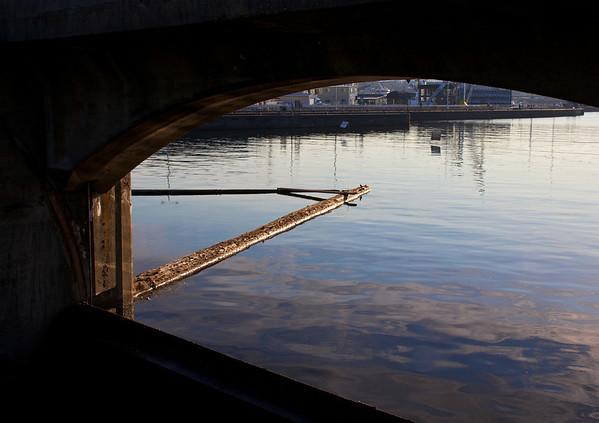 Ballard locks view