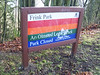 Frink Park was the first park I walked through.  I walked down winding trails to Lake Washington BLVD.