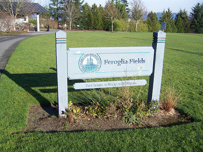 Another park along the Mercer Island path