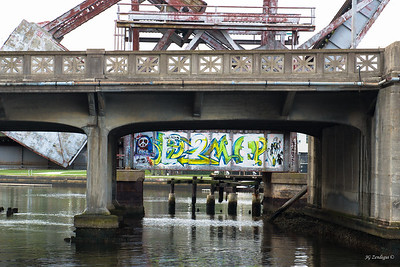 Street Art on RR Bridge