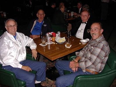11/26/02 - (L to R) Ray, Bob, Tom & Max