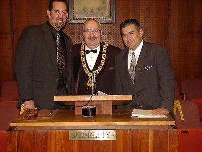 11/26/02 - Dan Thomas, Bob Gross & John Rodriquez