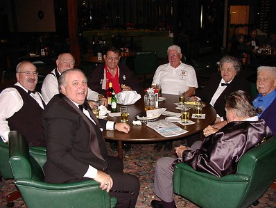11/26/02 - Merl, Bob Tex, Alex and Otto are joined by fellow elks