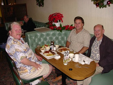 11/26/02 - Dave, Roger and Frank