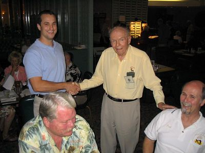 10/05 - Joe McKie takes Josh Petalowany in for investigation.