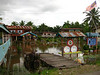 the little village of Kampung Garama, obviously facing some water issues.
