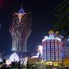 The famous Grand Lisboa casino in central Macau