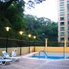 Pool at Best Western Taipa. very nice.