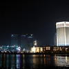 """the new """"Vegas-stye"""" casino-resorts are sprouting up along reclaimed land in Macau"""