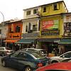 street scene in Little India, Singapore