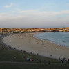 A massive crowd hits Bondi Beach in Sydney on Christmas Day. (this photo was taken later on after half the crowd had left)
