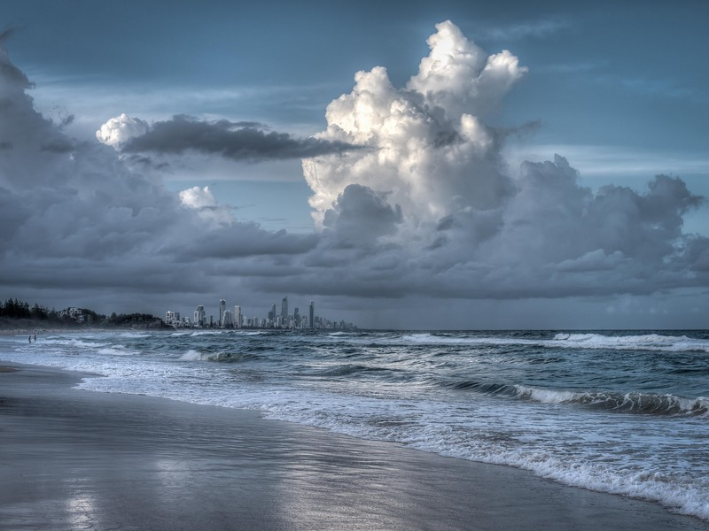Sky Over Surfers Paradise