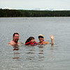 Greg, Danielle, Julie @ Deep Bay, Clear Lake