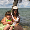 Danielle & Julie @ Clear Lake, near Greg & Erin's cabin