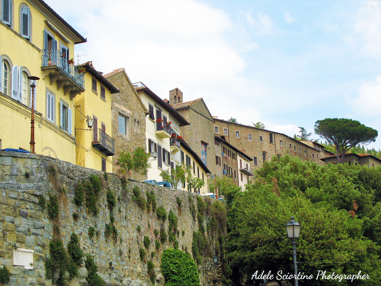 Cortona ~ Wall Surrounding Town