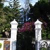 Front gate of Hacienda Pinsaqui