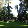 Here's a tour of Hacienda Pinsaqui: Front gardens