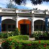 The main entrance to Hacienda Pinsaqui