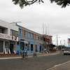 Avenida de Charles Darwin - the main drag in Puerto Ayora. Featuring Albatros Dive Center, and two guides who we always saw around and provided lots of advice.