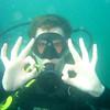 Regardless of bad viz, a keen diver will still enjoy being underwater