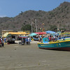 seaside action in Puerto Lopez