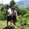Andrew & Julie in the hills above Mindo for some ziplining adventures!