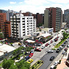 Avenida Republica de Salvadore, as viewed from Ryan's apartment on the 7th floor