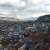 The valley of Quito, taken from Basilica Nacional