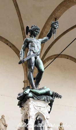 Statue of Perseus by Benvenuto Cellini