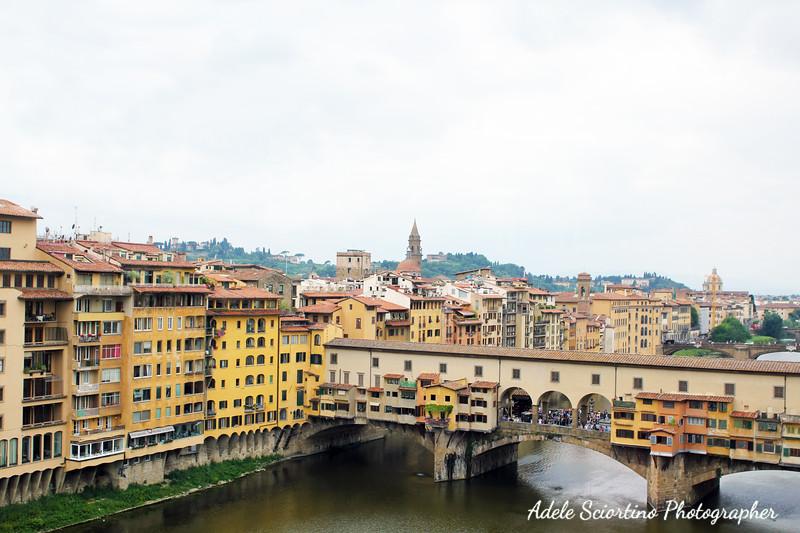 Ponte Vecchio (Old Bridge) & City