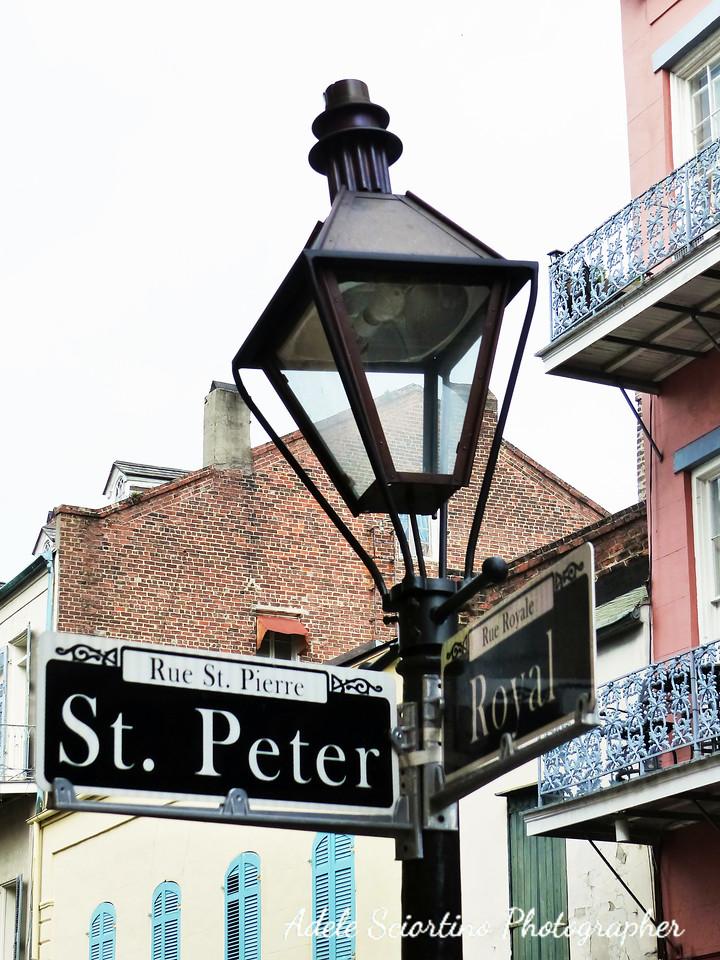 French Quarter Street Light