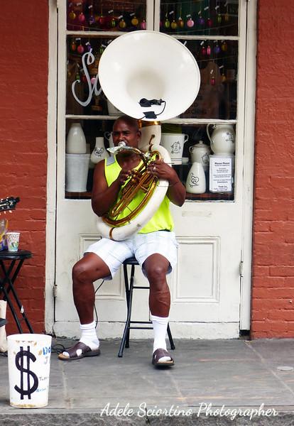 Tuba Player