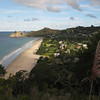 Overlooking Hahei Beach on the footpath to Cathedral Cove