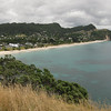 hahei beach, from the south end