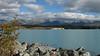 Lake Pukaki, from a rest stop on the Tekapo-Twizel Road