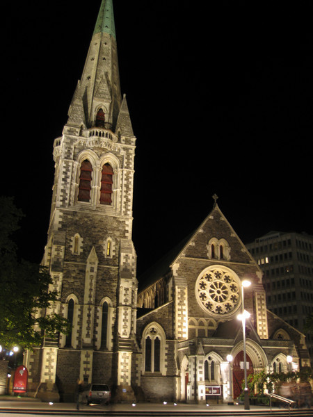 Christchurch Cathedral, in the heart of the city.