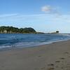 Moturiki Island, just offshore from Mount Manganui beach