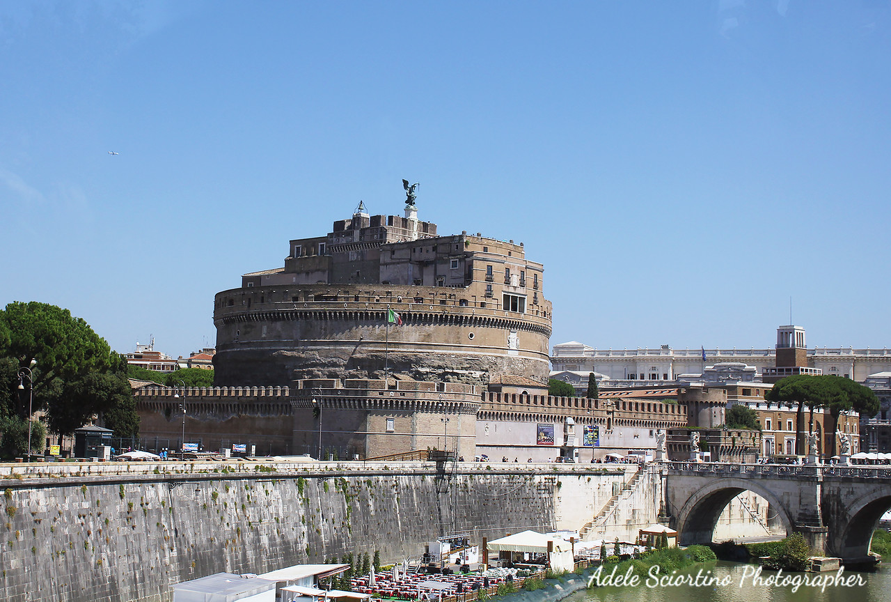 Castel Sant Angelo ~ 123 AD