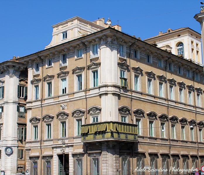 Palazzo Bonaparte Built 1660