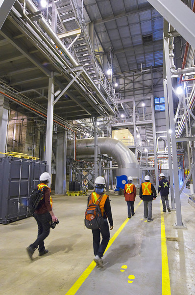 At the Portlands Energy Centre in Toronto on 25 May, 2013. Open to the public as part of Doors Open.