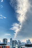 Toronto sky, 5 July, 2013.