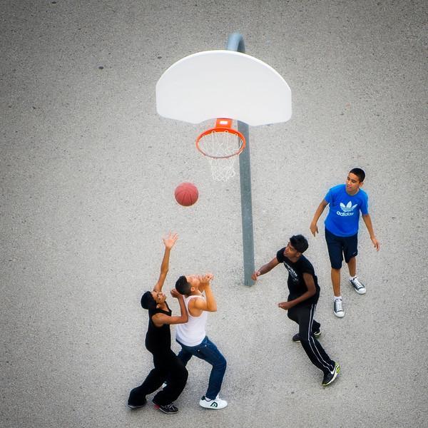 A little basketball in Toronto. 5 September, 2013.