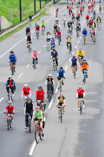 A few shots from the 25th Anniversary Ride for Heart along the Don Valley Parkway in Toronto. Shot 2 June, 2013.