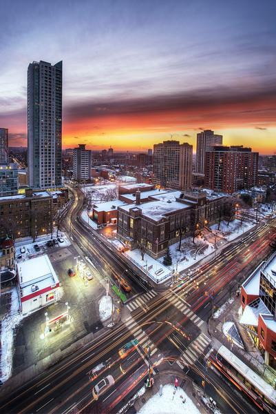 Sunrise Toronto. 30 January, 2014.