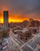 Toronto sunrise. 1 April, 2014.