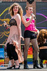 Performing Sweet Transvestite from Rocky Horror at World Pride in Toronto on 29 June, 2014.