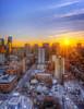 Toronto sunset. 16 March, 2014.